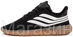Мужские кроссовки adidas Sobakov Black/White черные