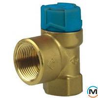 Клапан предохранительный PN16 Tmax 95C  6.0 бар Для водонагревателей  до 200 л SM150-1/2A