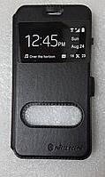 Чохол книжка Nillkinз вікном для Meizu M5C чорний