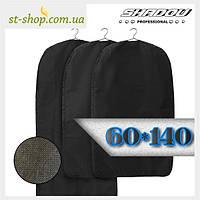 """Чехол для хранения одежды """"Shadow"""" на молнии черного цвета размер 60*140, фото 1"""