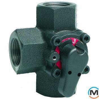 3-х ходовой вращающийся клапан DN20 Kvs  6.3 м3/ч V5433A1031