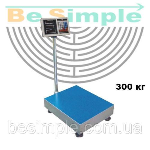 Электронные торговые весы 300 кг Opera Plus