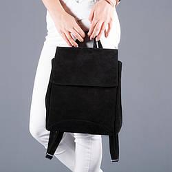Рюкзак замшевий невеликий під замовлення в будь-якому кольорі.