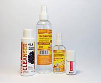 Жидкости для снятия липкости, обезжиривания, дегидрации