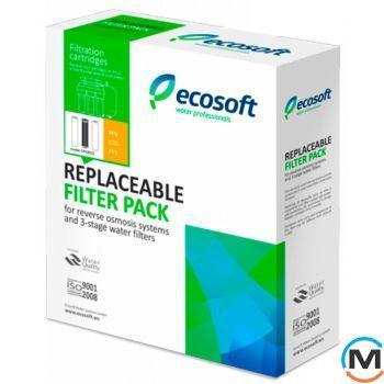 Комплект картриджей Ecosoft1-2-3 для осмоса