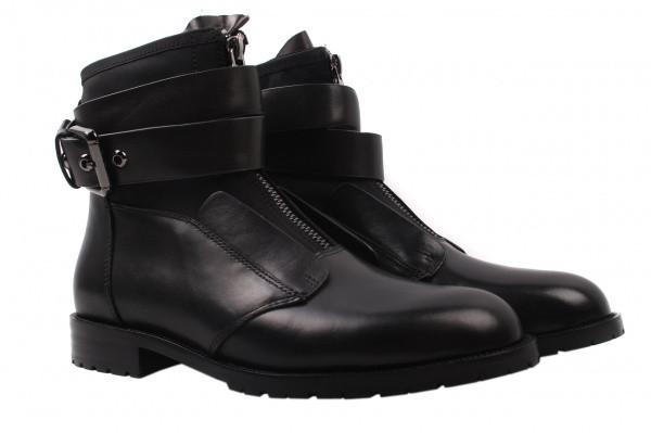 Ботинки Maria Moro натуральная кожа, цвет черный