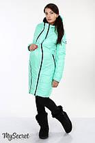Зимнее теплое пальто для беременных на силиконе размеры S, M, L, XL, 2XL, ALL, фото 2