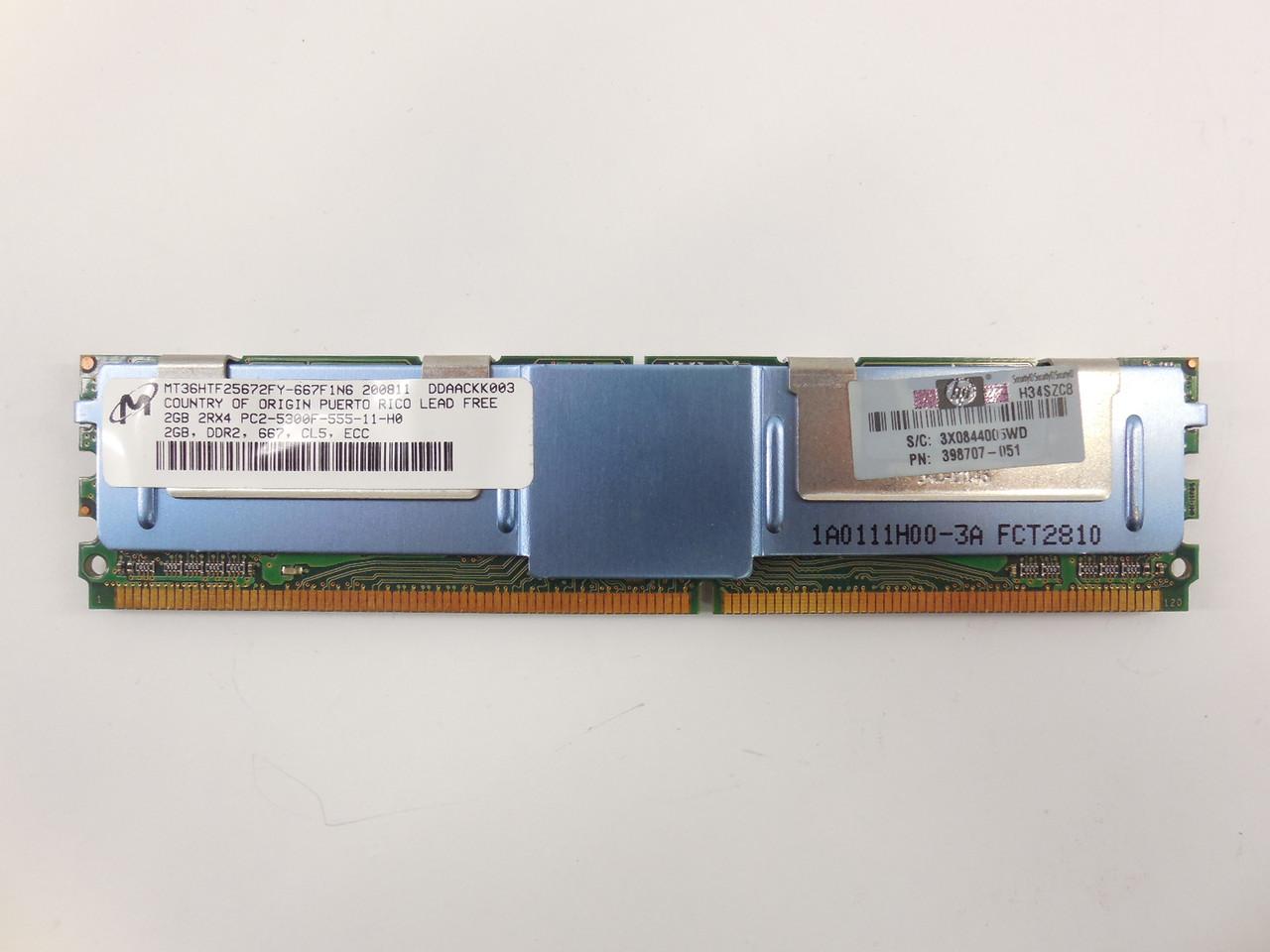 АКЦИЯ! Память DDR2 2Gb PC2-5300F Гарантия