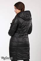 Зимнее теплое пальто для беременных на силиконе размеры S, M, L, XL, 2XL, ALL, фото 3