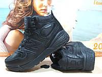 Кроссовки зимние мужские New Balance Fresh Foam Paradox (реплика) черные 42 р., фото 1