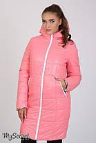 Зимнее теплое пальто для беременных на силиконе размеры S, M, L, XL, ALL, фото 2