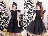 Платье женское с фатином  ро3067, фото 1