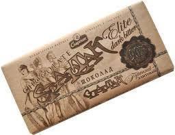 Шоколад Спартак 90% в крафтовой упаковке 90гр, фото 2