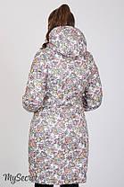 Зимнее теплое пальто для беременных на силиконе размеры S, M, L, XL, ALL, фото 3
