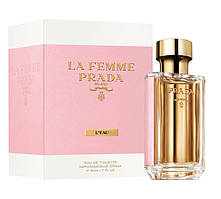 Женская туалетная вода, оригинал Prada La Femme L`Eau 35 мл