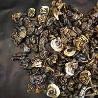 """Зеленый чай """"Серебряная улитка"""" (Silver snail, Срібний равлик, Инь Ло) китайский с чайной типсой, фото 1"""