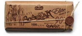 Шоколад Спартак 90% горький элитный 1000г, фото 2