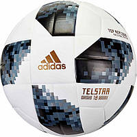 Мяч футбольный Adidas Telstar Top Replica FIFA CE8091 бело-серый, размер 5