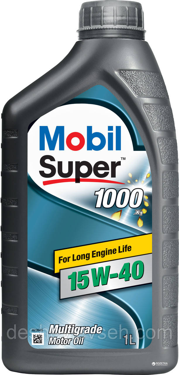 Масло MOBIL Super 1000    15W40   1л, (MOBIL)