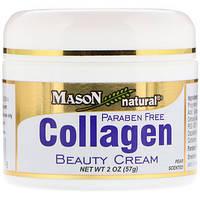 Крем для лица и тела с коллагеном, с запахом груши (57) Mason Natural