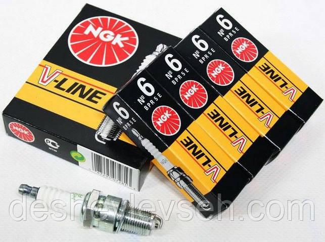 Свічка запалювання NGK № 6 BPR5E к-т 406 дв. (VL06), (NGK)
