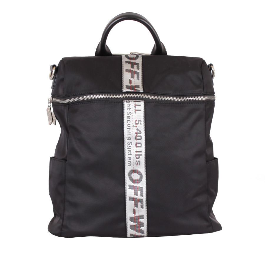 Сумка-рюкзак D22419-1Z Черная