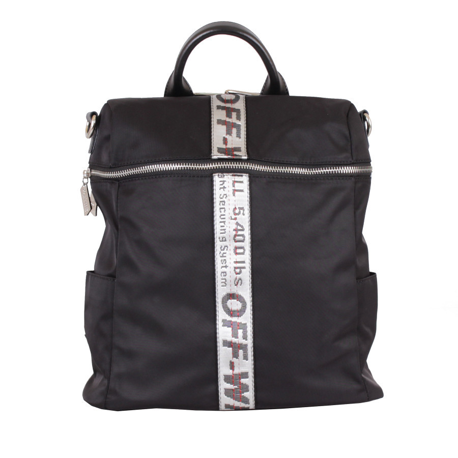 Сумка-рюкзак D22419-1Z Чорна