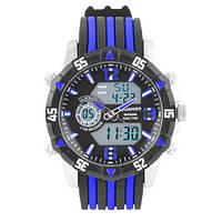 Наручний годинник Quamer 1508 ремінець, електронні годинники наручні, фото 1