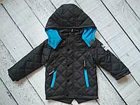 Куртка  для мальчика 4-12 лет с капюшоном