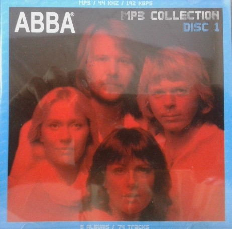 MP3 диск. ABBA - MP3 Collection - Disc 1