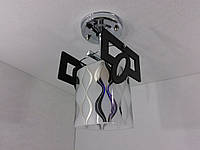 Люстра потолочная на 1 лампочку YR-6174/1-ch, фото 1