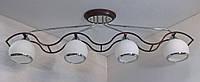 Люстра потолочная на 4 лампочки YR-11143/4