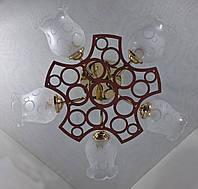 Люстра потолочная на 5 лампочек YR-6136/5