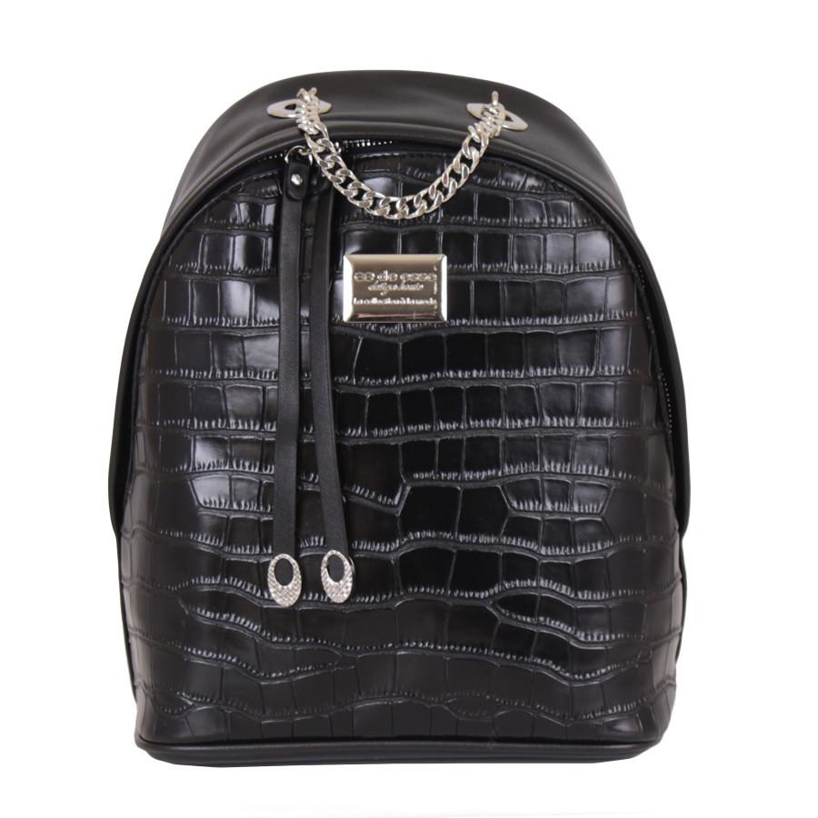 Сумка-рюкзак D23306-1 Черная