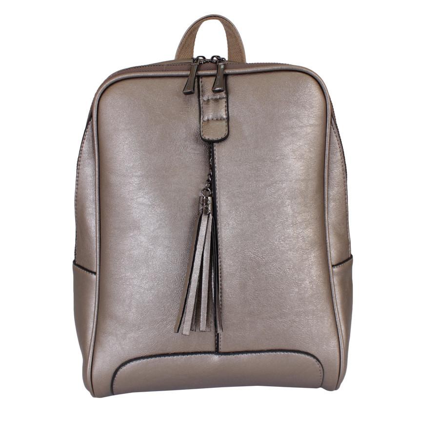 Сумка-рюкзак T37080-02 Бронзовая
