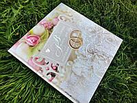 Весільний альбом для побажань УКР №2001, 27х27 см