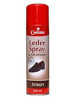 Спрей-краска Centralin для замши и гладкой кожи , 250мл. Коричневый