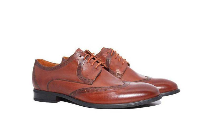 Туфлі броги ІКОС коричневі  продажа ccd64c40e2397