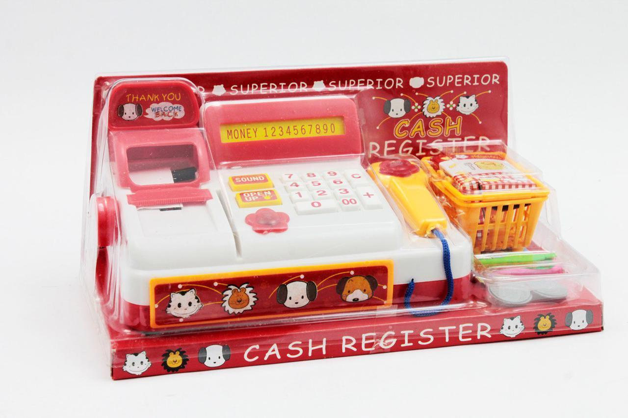 Дитяча іграшка Касовий апарат, 398, на батарейках, в блістері