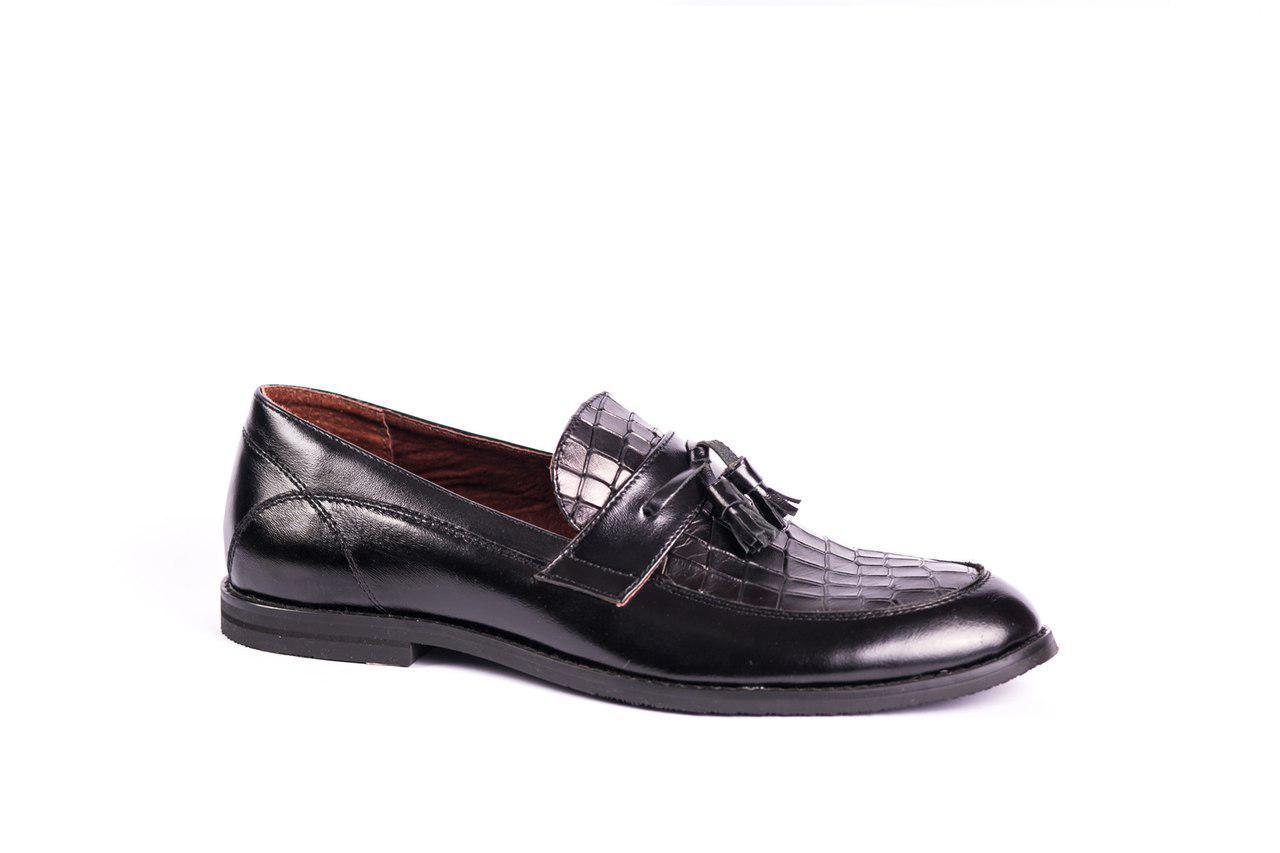 09edb514f21023 Туфлі лофери VadRus чорні: продажа, цена в Тернополе. туфли мужские ...