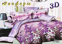 Комплект постельного белья с простынью на резинке Тет-А-Тет евро 701 ранфорс