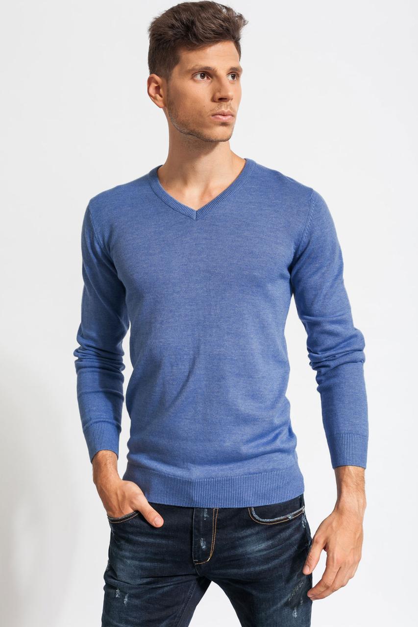 Мужской свитер ( полувер ) Синий