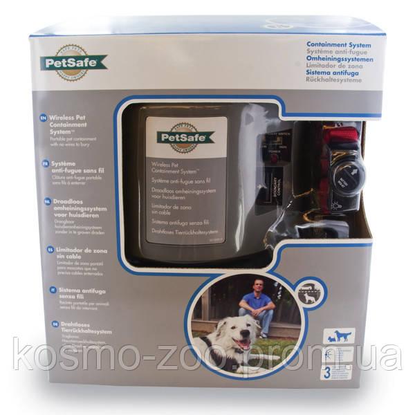 PetSafe Wireless Containment System ПЕТСЕЙФ БЕСПРОВОДНОЙ ЭЛЕКТРОННЫЙ ЗАБОР для собак весом от 3,6 кг