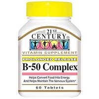 Комплекс витаминов группы B, 60 таблеток 21st Century
