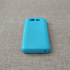 Чехол TPU Fly IQ440 light-blue, фото 2
