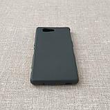 Чехол Silicon Sony Xperia Z3 mini black, фото 3