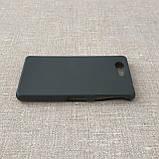 Чехол Silicon Sony Xperia Z3 mini black, фото 4