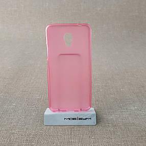 Чехол TPU Meizu M5c pink, фото 2