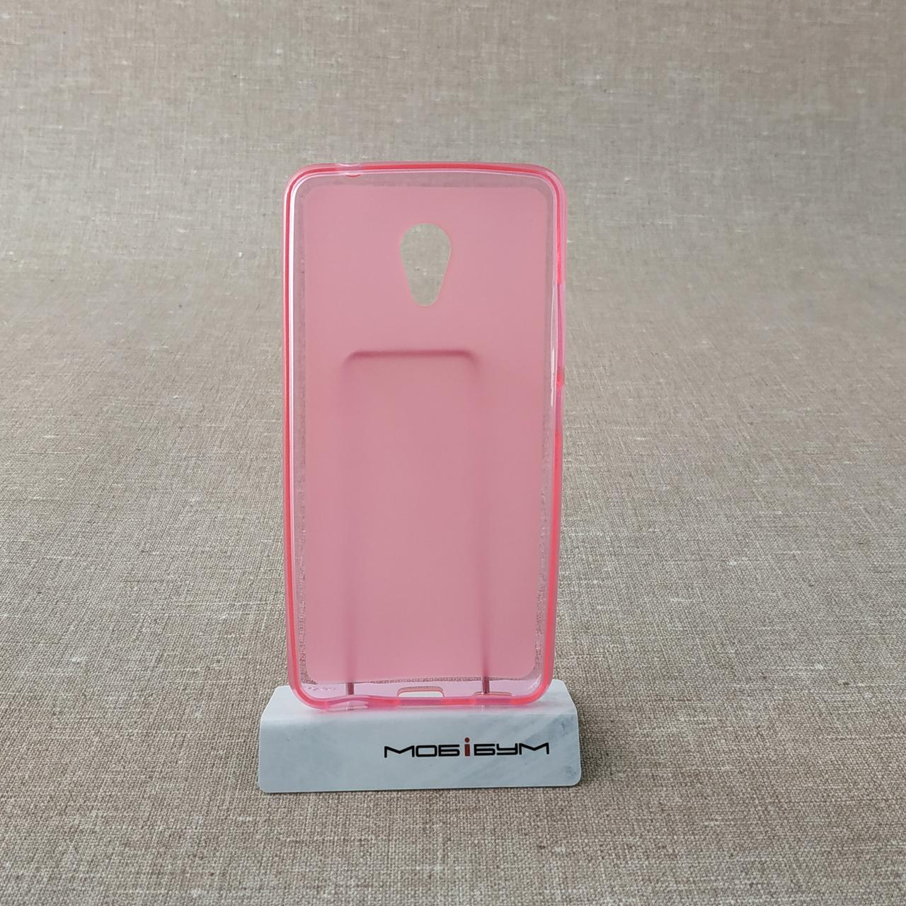 Чехлы для Meizu TPU M5c pink Для телефона M5