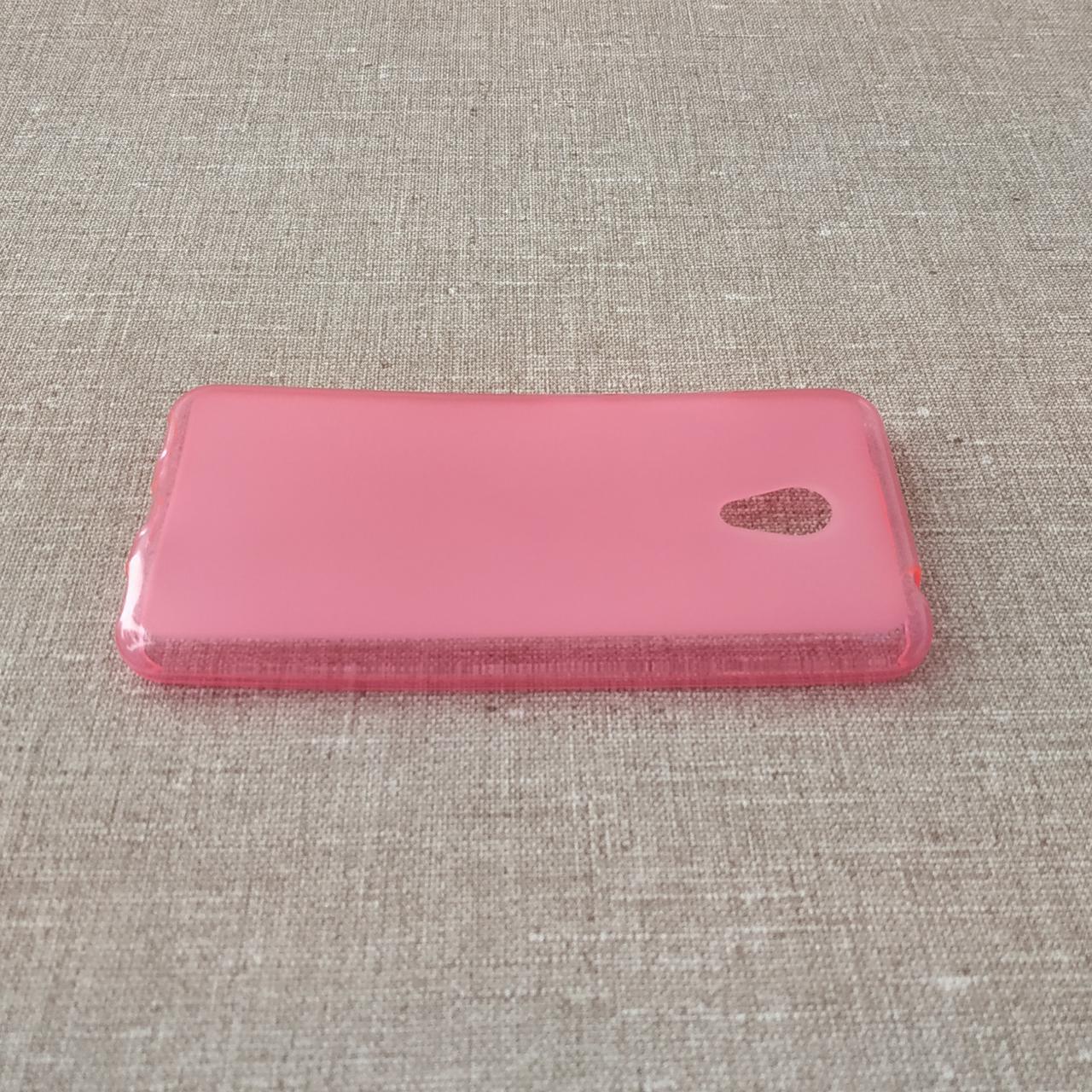 TPU Meizu M5c pink Для телефона